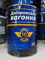 Эмаль Днепровская Вагонка ПФ 133 белый глянец 1л