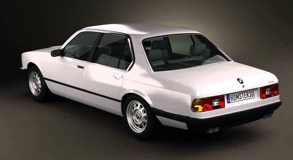 Заднее стекло (ляда) BMW 7 (E23) (1977-1986), Седан