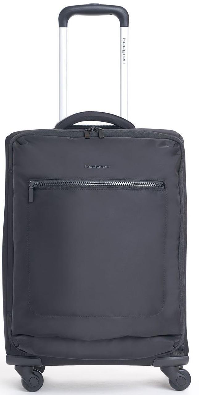 Малый чемодан Hedgren Spinner GOLA HITC07W/003-01, 42 л., ткань, 4 колеса, черный