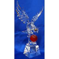 Орел хрустальный (21см) , Изделия из хрусталя