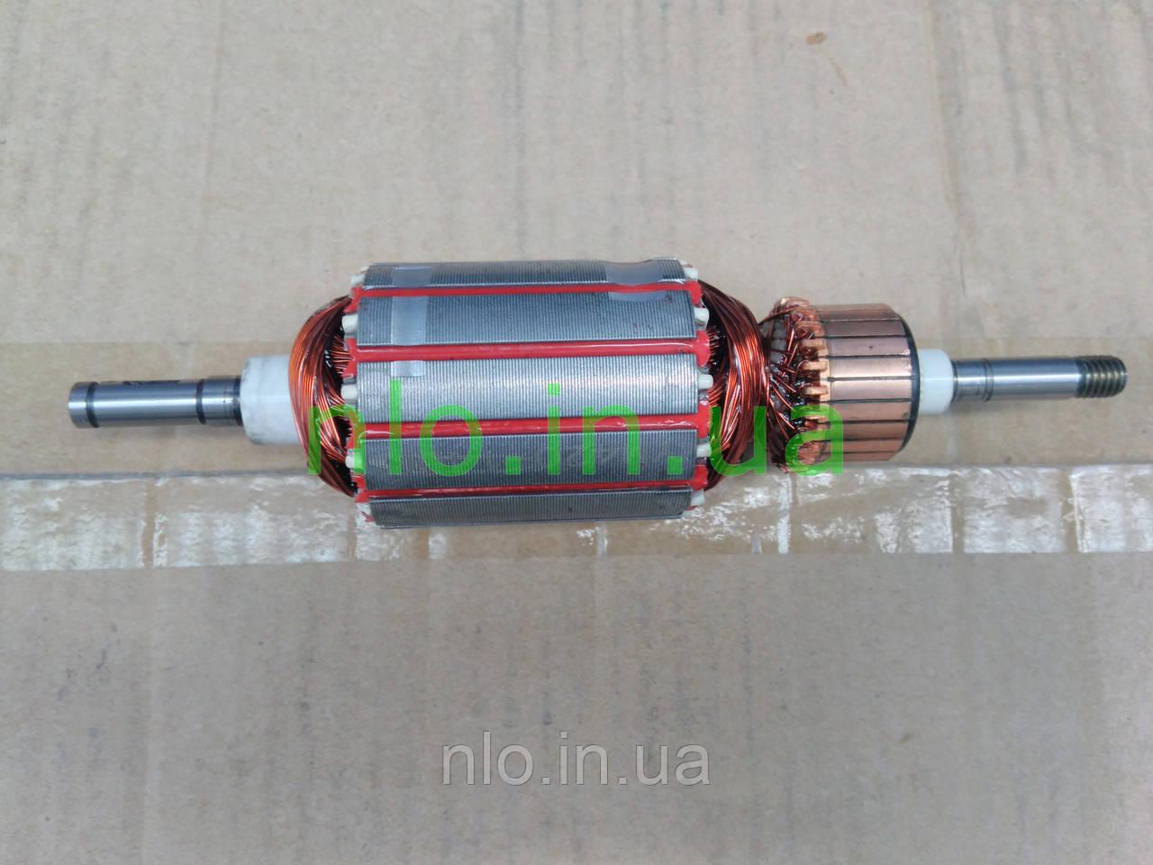 Якорь электро косы триммера Элпром (182х46 8 мм шпонка)
