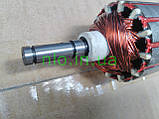 Якорь электро косы триммера Элпром (182х46 8 мм шпонка), фото 3