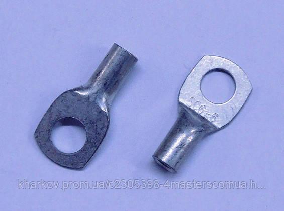 Клемма sc 6-6 под болт 6 мм