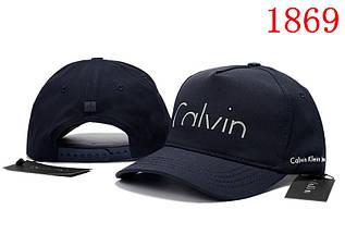 Кепка мужская и женская в стиле Calvin Klein синяя