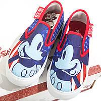 Кеды Микки и веселые гонки /Mickey Roadster Racers для мальчиков (р. 30-34) ТМ ARDITEX WD12033