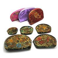 Косметички с вышивкой (набор 5 шт)(20х14х3 см) , Шкатулки