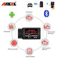Бренд ANCEL  ELM327 V1.5 Bluetooth OBD2 сканер диагностики авто, фото 1