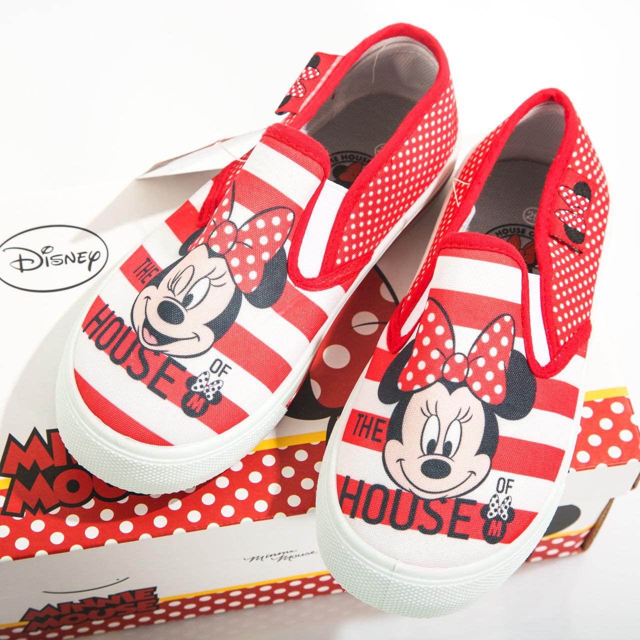 379998321 Кеды Минни Маус /Minnie для девочек (текстильная обувь, р. 29,31-34) ТМ  ARDITEX WD12046