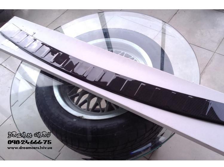 НАКЛАДКА ЗАЩИТНАЯ НА БАМПЕР BMW X5 F15 (2013-...) CARBON материал: карбон