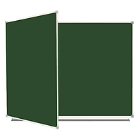 Доски магнитно-маркерные, меловые с 3 поверхностями