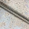Ланцюжок фігурна кручена з карабінами, срібло, фото 3