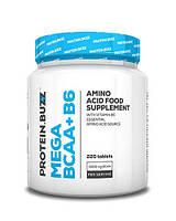 Protein.Buzz Mega BCAA  + B6 220 tab