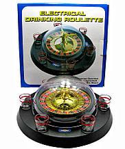 Електронна Рулетка з набором чарок