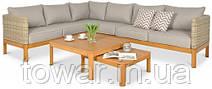 Мебель для сада  TECHNORATTAN  Угловой диван MILLA