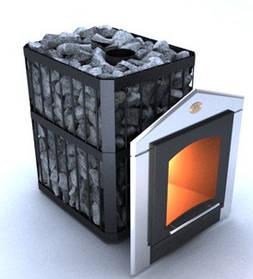 Печи каменки Новаслав