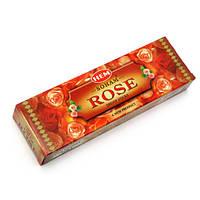 Soham Rose Dhoop Sticks (Роза)(12/уп) безосновное благовоние , Благовония и аксессуары