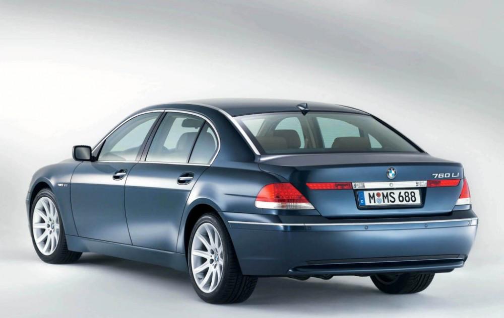 Заднее стекло (ляда) BMW 7 (E65) (2002-2008), Седан, с антенной для радио, с антенной GPS