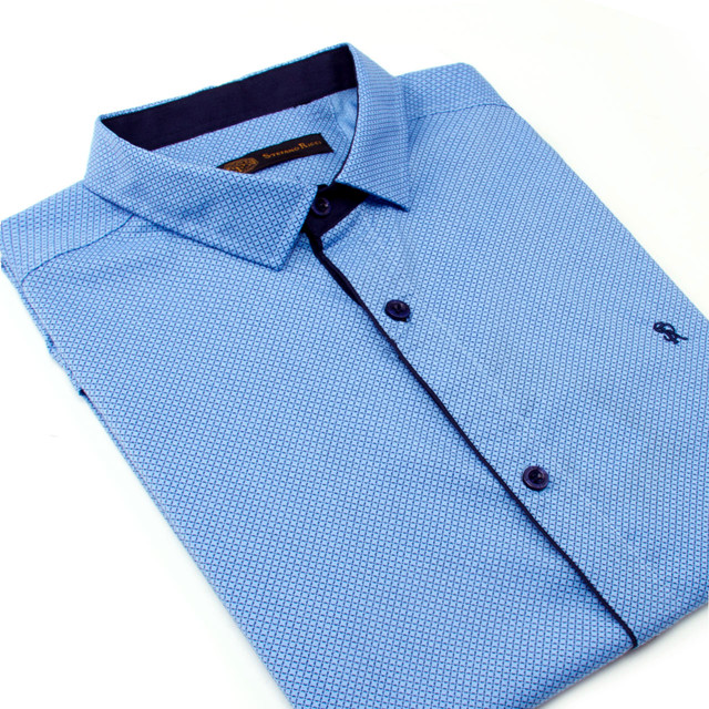Рубашка мужская с коротким рукавом STEFANO RICCI