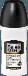 Кульковий антиперспірант BALEA Men Invisible Dry
