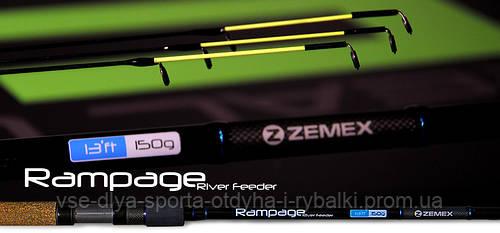 Удилище фидерное ZEMEX RAMPAGE 12,4 ft до 100,0 гр.