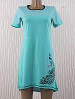 Ночная рубашка-туника подростковая, женская