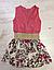 Платья для девочек, Венгрия, Seagull, котон 100%,  рр 4, 6, 8 лет., арт. 86023 ,, фото 2