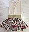 Платья для девочек, Венгрия, Seagull, котон 100%,  рр 4, 6, 8 лет., арт. 86023 ,, фото 3