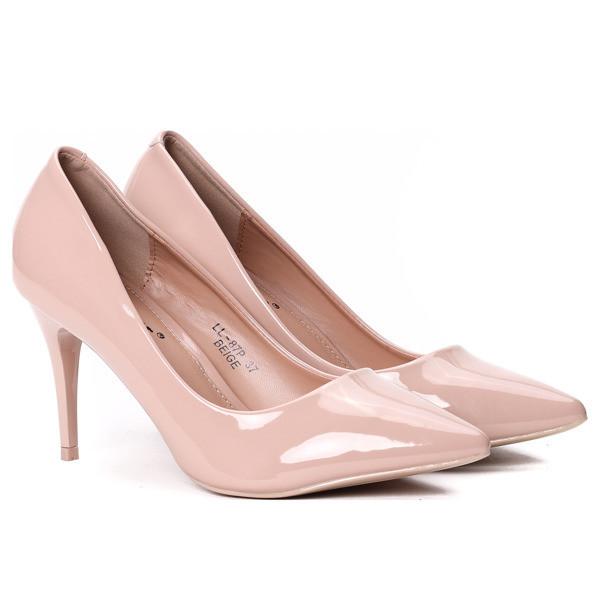 a3210f50f5a5 Лаковые женские стильные туфли по доступной цене на каблуке , выбрать из  Туфель ...