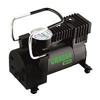 Автомобильный компрессор для шин R13-R16 Uragan однопоршневой 35л/мин 7атм (90110)