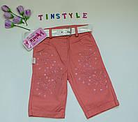 Хлопковые шорты для девочки 1 .2.3.4 года, фото 1
