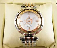 Часы Pandora Quartz 38mm Silver/Rose Gold. Реплика, фото 1