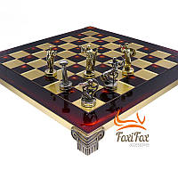 Дорожные шахматы ручной работы Римляне