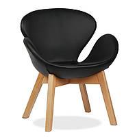 Кресло Свэн Вуд Кожзам (Swan Wood Ecoskin)