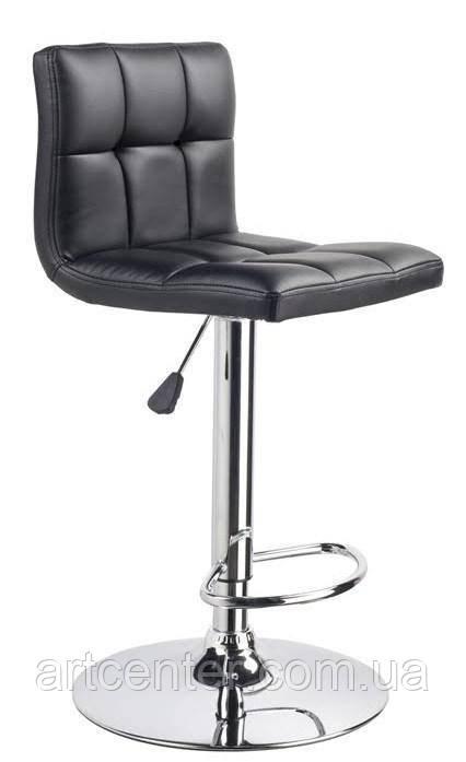 Стул визажный, стул барный, стул для администратора, хокер черный (Даниэль черный)