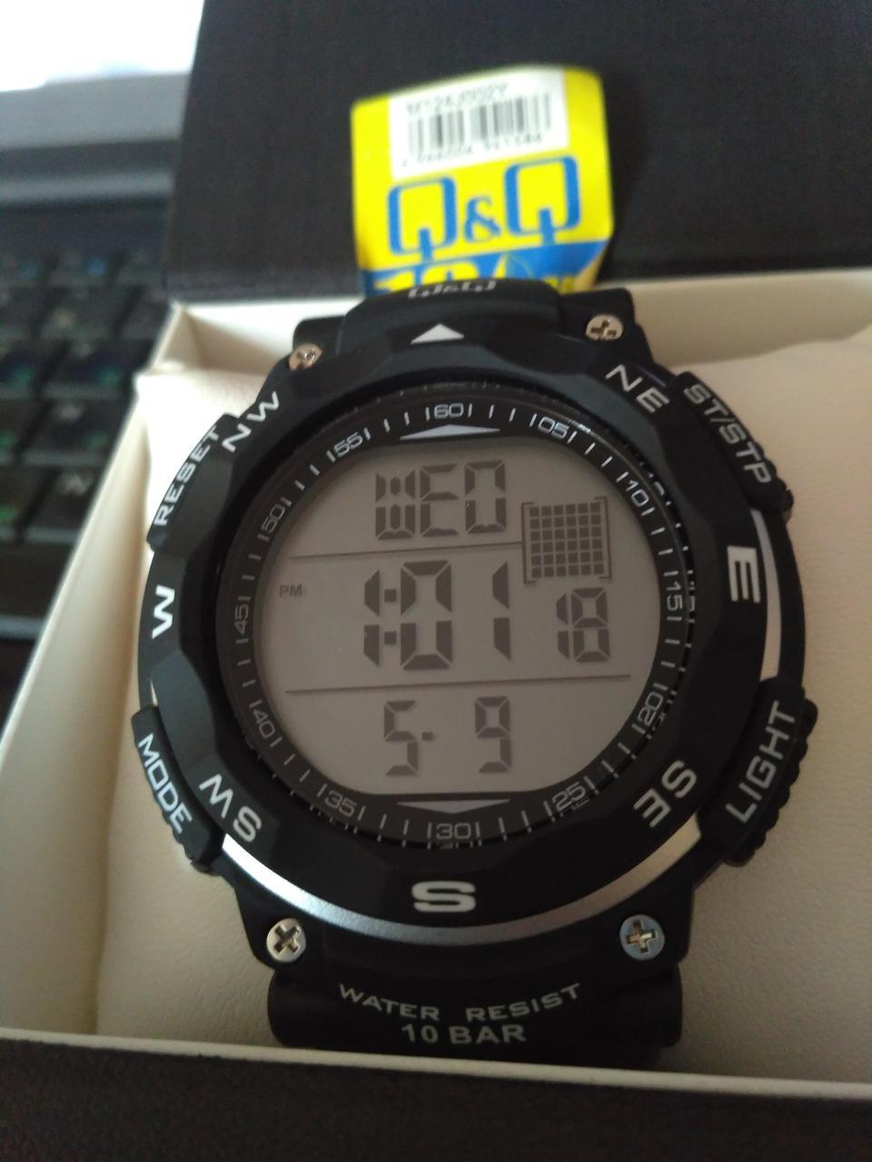 d2f48b1e Часы Q&Q M124-002 / Часы QQ / Оригинал Спортивные часы / Водонепроницаемые  / Куку / Кью кью / Украина Одесса / Японские наручные часы / Кью энд кью ...