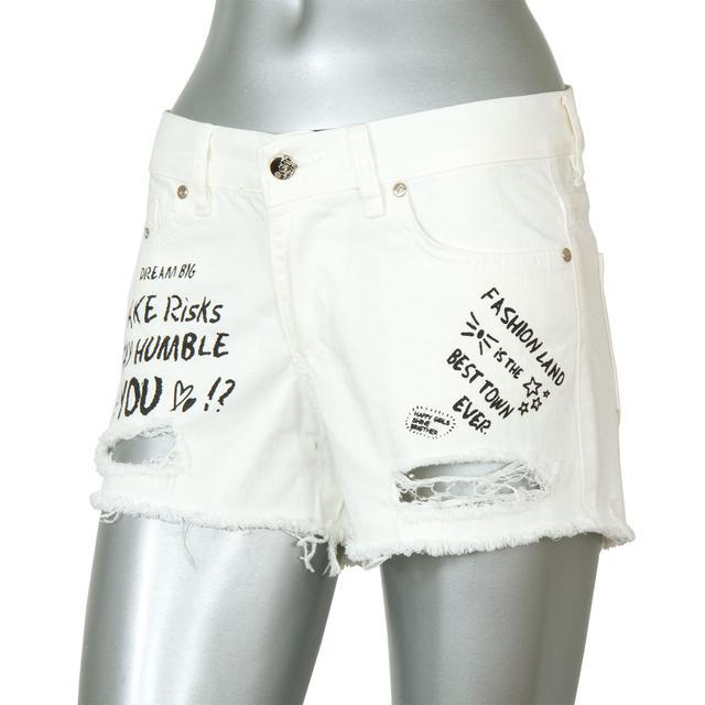 Джинсовые женские шорты CHAMUR