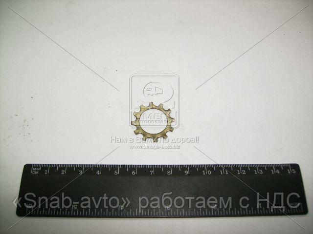 Шайба пружинная 12 зубчатый шланга тормозного УАЗ (производство ГАЗ) (арт. 252239-П29)