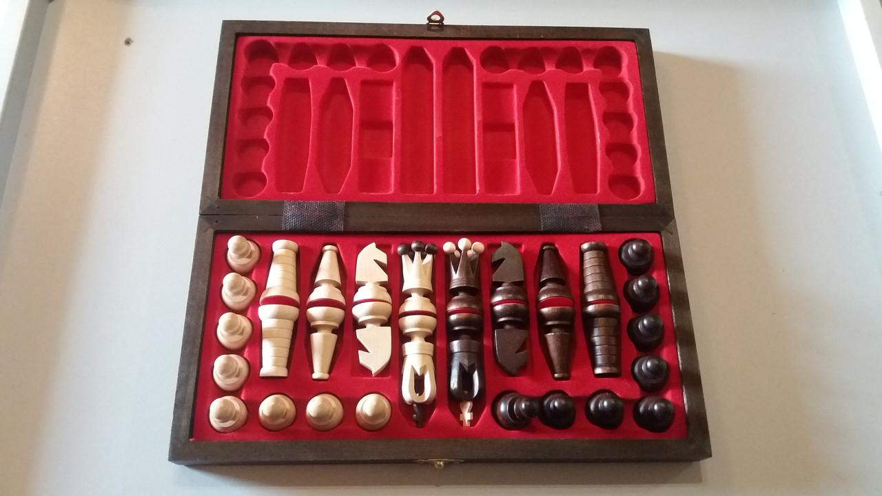 Красивые деревянные шахматы ручной работы