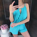 Женский стильный летний комбинезон шортами (3 цвета), фото 2