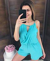 Женский стильный летний комбинезон шортами (3 цвета), фото 1