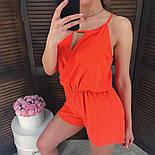 Женский стильный летний комбинезон шортами (3 цвета), фото 4
