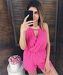 Женский стильный летний комбинезон шортами (3 цвета), фото 7
