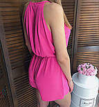 Женский стильный летний комбинезон шортами (3 цвета), фото 8