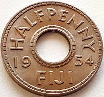 Фиджи ½ пенни 1954