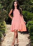 Платье нежно персикового цвета, фото 2