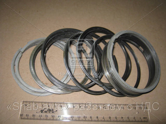 Кольца поршневые 100,0 М/К  ЗИЛ 130 (ХРОМ)  производство  МЕХАНИК  PRSPL (арт. 130-1000100), AFHZX