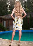 Белое платье с лимонами, фото 2