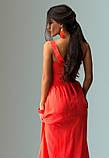 Платье в античном стиле с пайеткой красное, фото 2