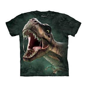 3D футболка для мальчика The Mountain р.M 7-9 лет футболки детские 3д принтом (Рев Тиранозавра), фото 2