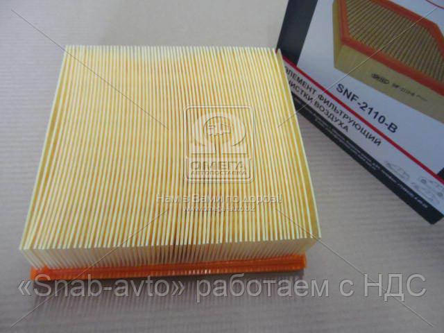 Элемент фильтра воздушного ВАЗ 2108-10, 2112 (инжектор) в упаковке (производство SINTEC) (арт. 2112-1109080)